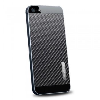 Пленка защитная SGP Skin Guard Set Series Carbon BLACK для iPhone 5