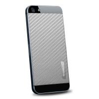 Пленка защитная SGP Skin Guard Set Series Carbon GREY для iPhone 5