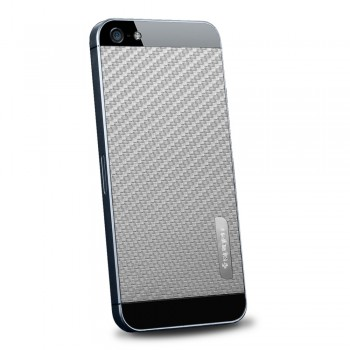 Пленка защитная SGP Skin Guard Set Series Carbon GREY для iPhone 5