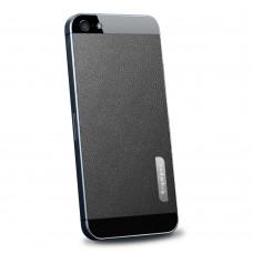 Пленка защитная SGP Skin Guard Set Series Leather BLACK для iPhone 5