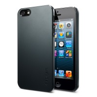Чехол пластиковый SGP Case Ultra Thin Air Series METAL SLATE для iPhone 5