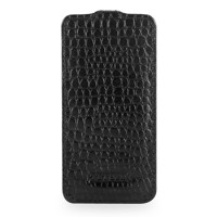 Чехол TETDED Troyes Series Flip Case Crocodile Black для iPhone 5
