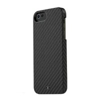 Чехол TUNEWEAR Carbon Look Cover Case BLACK для iPhone 5