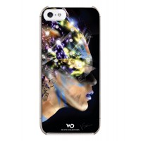 Чехол пластиковый White Diamonds Nafrotiti Black для iPhone 5/5S
