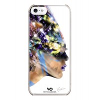 Чехол пластиковый White Diamonds Nafrotiti White для iPhone 5/5S