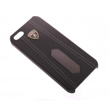Чехол Lamborghini Aventador-D2 Back Cover Case BLACK для iPhone 5/5S