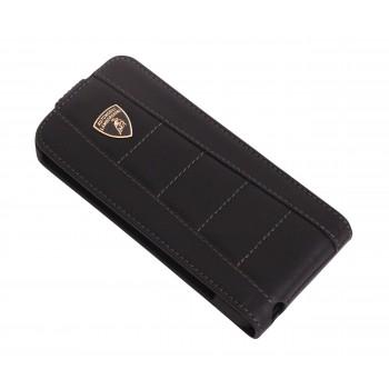 Чехол Lamborghini Gallardo-D1 Flip Case BLACK для iPhone 5/5S