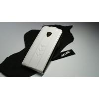 Чехол Lamborghini Flip Case Y WHITE для iPhone 5/S