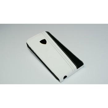 Чехол Lamborghini Flip Case WHITE для iPhone 5/S