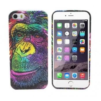 Чехол Luxo 3D Bright Print Aztec Animal Faces Мonkey для iPhone 6/6S