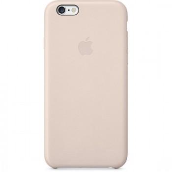 Чехол Apple Leather Case Light Pink для iPhone 6/6S