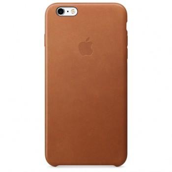 Чехол Apple Leather Case Brown для iPhone 6/6S