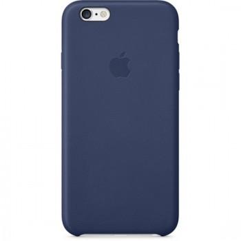 Чехол Apple Leather Case Dark Blue для iPhone 6/6S
