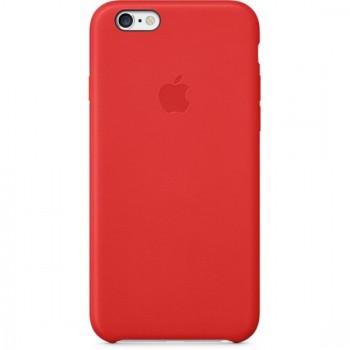 Чехол Apple Leather Case Red для iPhone 6/6S