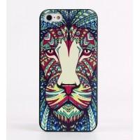 Чехол пластиковый Luxo Funky Animal Aztec Glow In The Dark 3D Лев для iPhone 6/6S