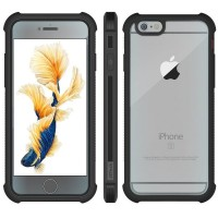 Чехол пластиковый Jetech Protective Case Screen Protector Black для iPhone 6/6s