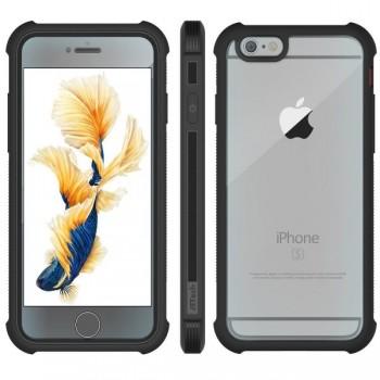 Чехол пластиковый Jetech Protective Case Screen Protector Black для iPhone 6/6s