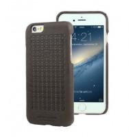 Чехол Pierre Cardin Premium Leather Case Black для iPhone 6/6S