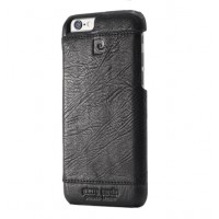 Чехол Pierre Cardin Leather Case Black для iPhone 6/6S