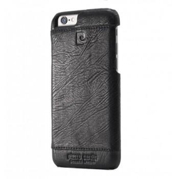 Чехол Pierre Cardin Leather Case Black для iPhone 6/6S
