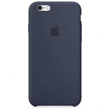 Чехол силиконовый Apple Silicone Case Blue Cobalt для Apple iPhone 6/6s