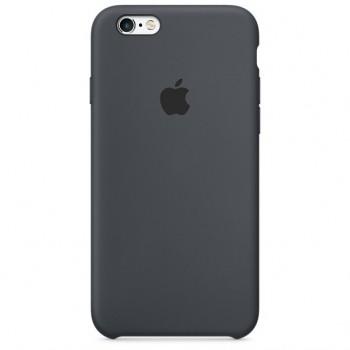 Чехол силиконовый Apple Silicone Pastel Black для Apple iPhone 6/6s