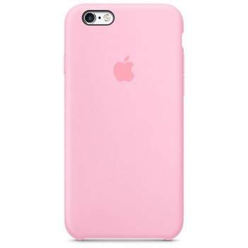 Чехол силиконовый Apple Silicone Case Light Pink для Apple iPhone 6/6s
