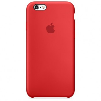 Чехол силиконовый Apple Silicone Scarlet Red для Apple iPhone 6/6s