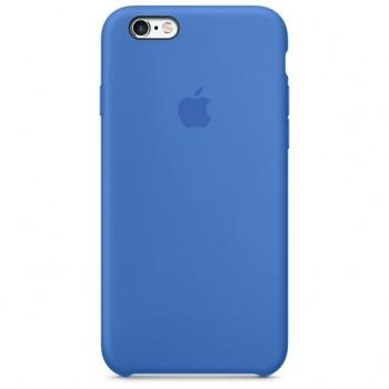 Чехол силиконовый Apple Silicone Royal Blue для Apple iPhone 6/6s