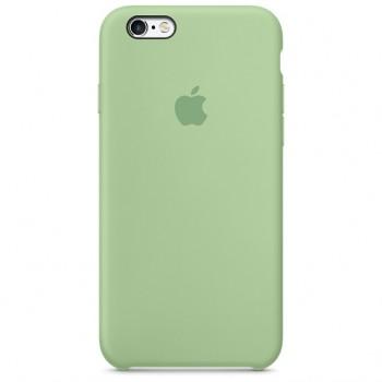 Чехол силиконовый Apple Silicone Mint для Apple iPhone 6/6s
