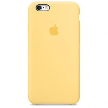 Чехол силиконовый Apple Silicone Case Yellow для Apple iPhone 6/6s