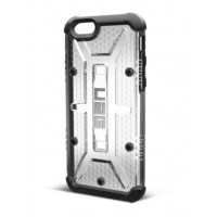 Чехол пластиковый Urban Armor Gear Maverick Silver для iPhone 6