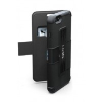 Чехол пластиковый Urban Armor Gear Scout Folio Black для iPhone 6/6S