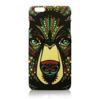 Чехол пластиковый Luxo Funky Animal Aztec Glow In The Dark 3D Медведь для iPhone 6 Plus