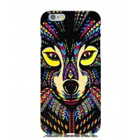 Чехол пластиковый Luxo Funky Animal Aztec Glow In The Dark 3D Собака для iPhone 6 Plus