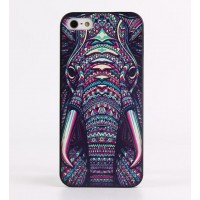 Чехол пластиковый Luxo Funky Animal Aztec Glow In The Dark 3D Слон для iPhone 6 Plus