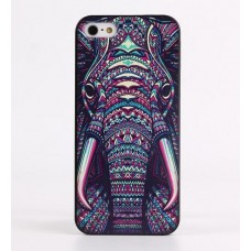 Чехол Funky Animal Aztec Glow In The Dark 3D для iPhone 6 Plus Слон