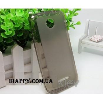 Чехол силиконовый Silicone Matte Case Grey для Lenovo A376