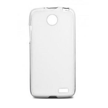 Чехол силиконовый прозрачный Silicone Matte Case White для Lenovo A516