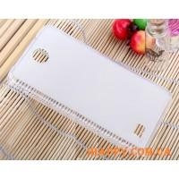 Чехол силиконовый полупрозрачный Silicone Matte Gloss Case White для Lenovo A656/766