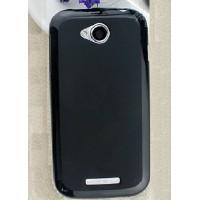 Чехол силиконовый Silicone Case Black для Lenovo A706