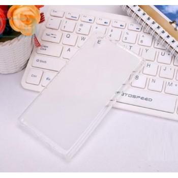Чехол силиконовый прозрачный Silicone Matte Gloss Case White для Lenovo P70