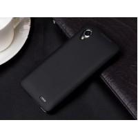Чехол силиконовый Silicone Matte Gloss Case Black для Lenovo P770