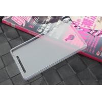 Чехол силиконовый прозрачный Silicone Matte Gloss Case White для Lenovo P90/K80