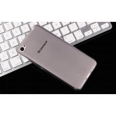 Чехол силиконовый полупрозрачный Silicone Case Grey для Lenovo S90