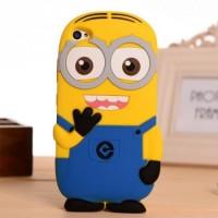 Чехол cиликоновый Kids Cartoon Case Миньйон Yellow Blue для Lenovo S90