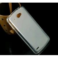 Чехол силиконовый полупрозрачный Silicone Matte Gloss Case White для Lenovo S920