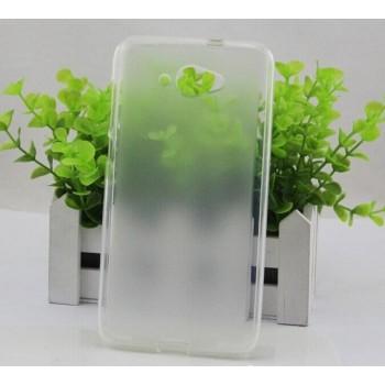 Чехол силиконовый прозрачный Silicone Matte Gloss Case White для Lenovo S930