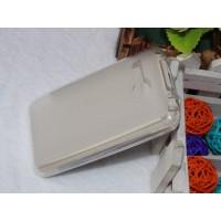 Чехол силиконовый полупрозрачный Silicone Matte Case White для lenovo A316i