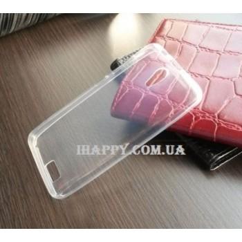 Чехол силиконовый прозрачный Silicone Case Clear для lenovo A319